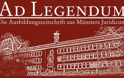 Aktionsabo der Ad Legendum für Mitglieder von ELSA-Münster e.V.