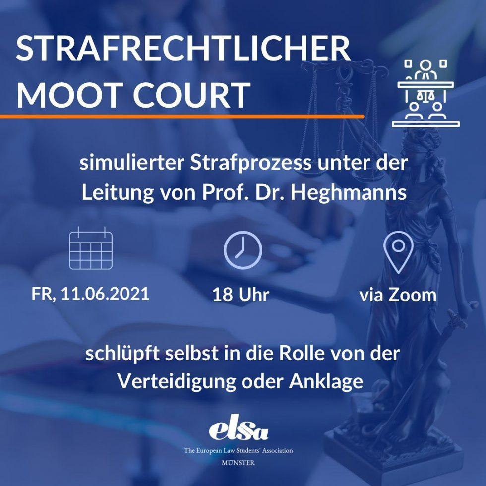 Strafrechtlicher Moot Court