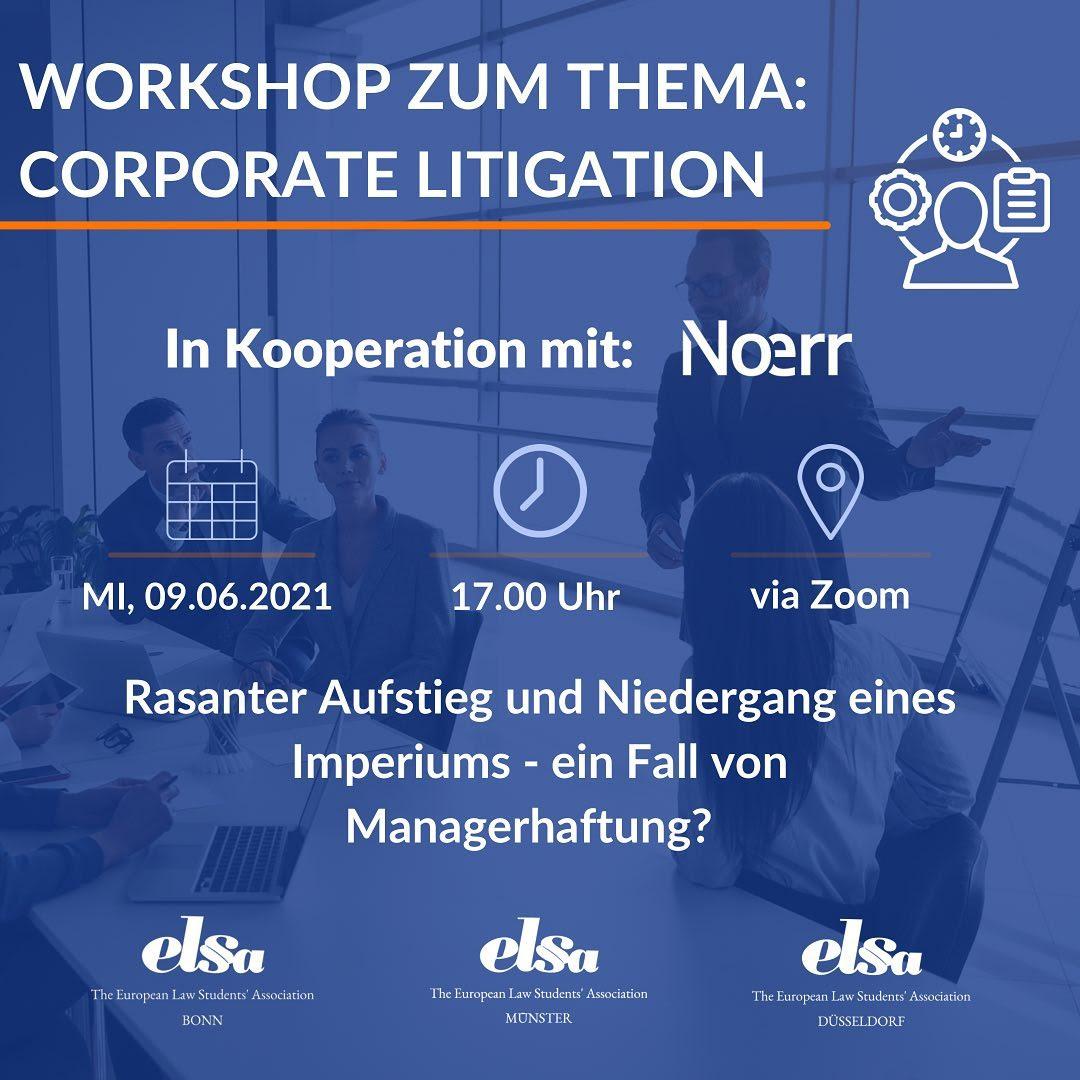 Workshop Noerr